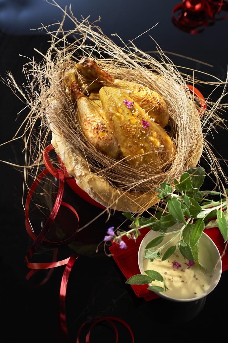 Recette de chapon pleine saveur en cocotte lutt au foin - Cuisiner des epis de mais ...