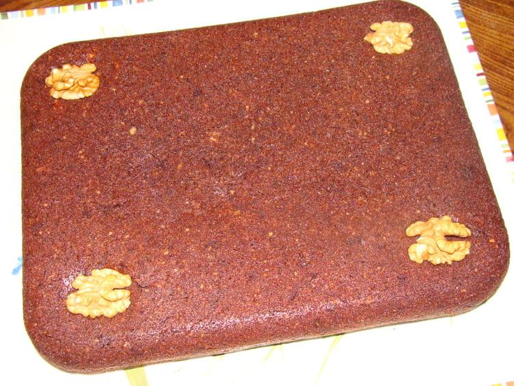 recette de brownies au chocolat amandes et noix la recette facile. Black Bedroom Furniture Sets. Home Design Ideas