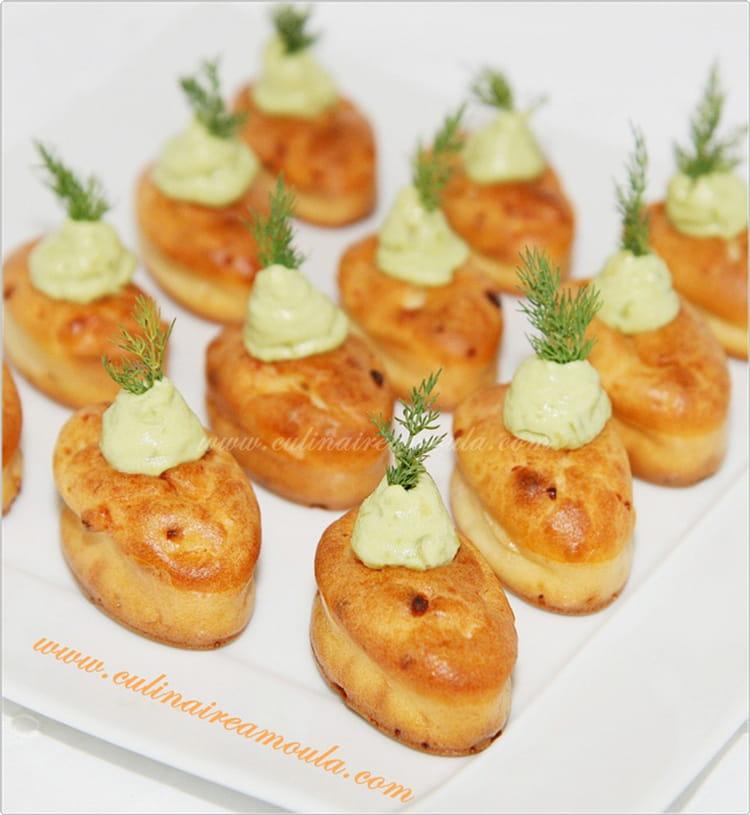 Mini Cake Saumon Crevette