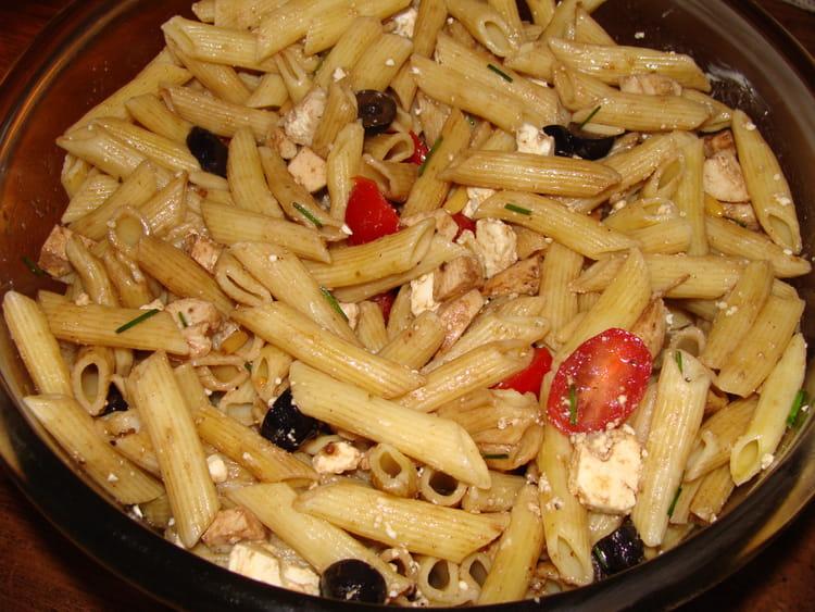 recette de salade de p 226 tes au poulet la recette facile