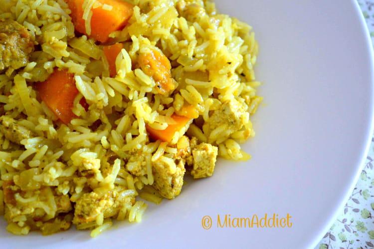 recette de riz potimarron et tofu au curry la recette facile. Black Bedroom Furniture Sets. Home Design Ideas