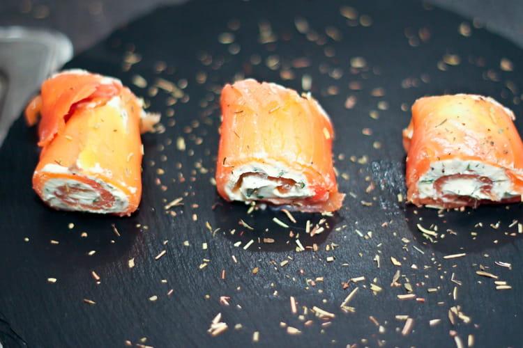Recette de zakouskis au saumon la recette facile - Cuisiner saumon surgele ...