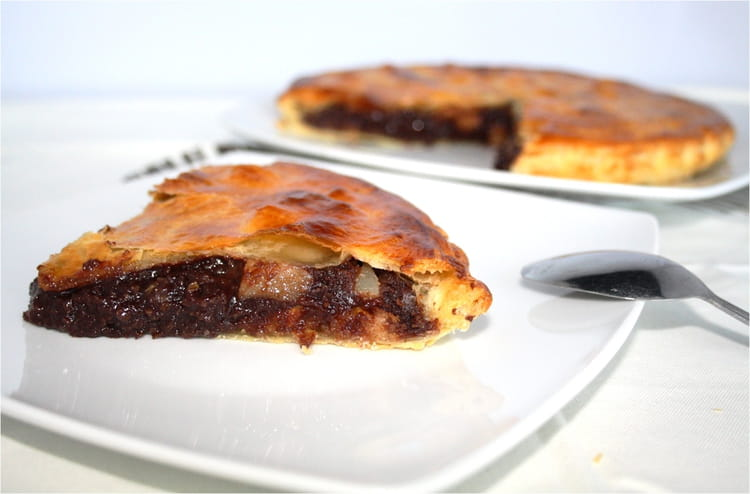 recette de galette des rois au chocolat et aux poires la recette facile. Black Bedroom Furniture Sets. Home Design Ideas
