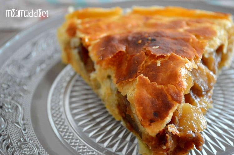 Recette de galette des rois pommes poires sp culoos la recette facile - Recette facile galette des rois ...