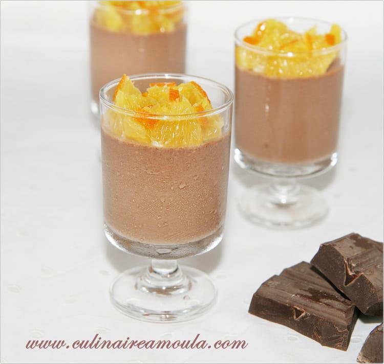 recette de panna cotta au chocolat orange et fleur d 39 oranger la recette facile. Black Bedroom Furniture Sets. Home Design Ideas