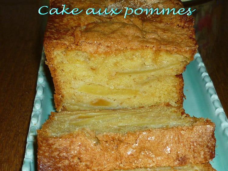 recette de cake crousti moelleux aux pommes la recette. Black Bedroom Furniture Sets. Home Design Ideas