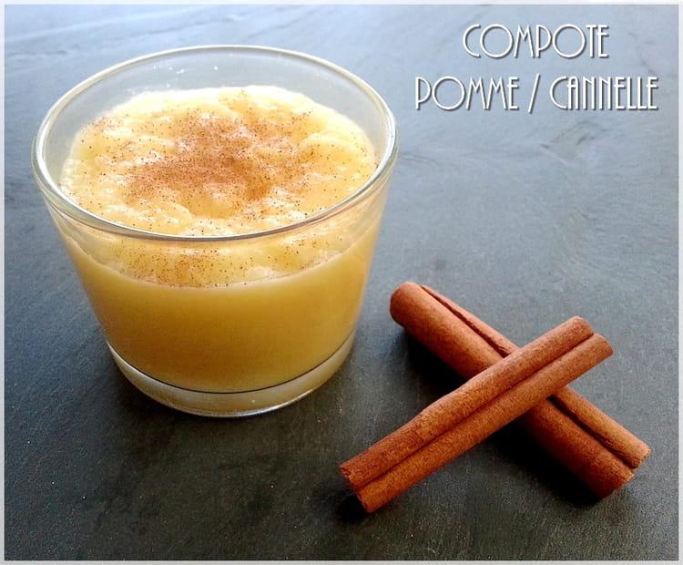 recette de compote la pomme et la cannelle la recette facile. Black Bedroom Furniture Sets. Home Design Ideas