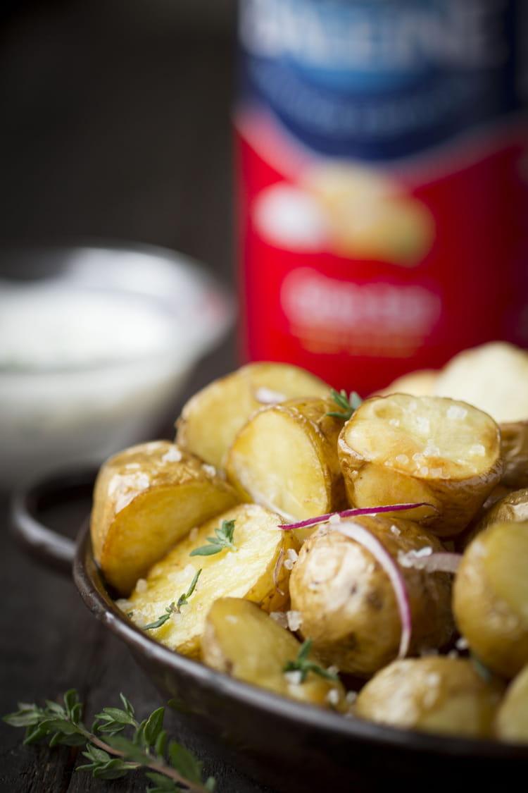 recette de pommes de terre grenailles au gros sel la baleine la recette facile. Black Bedroom Furniture Sets. Home Design Ideas