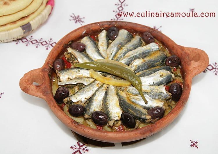 Recette de tajine de sardines la chermoula la recette - Cuisiner des filets de sardines fraiches ...