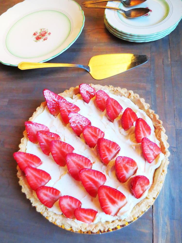 recette de tarte aux fraises et mascarpone la recette facile. Black Bedroom Furniture Sets. Home Design Ideas